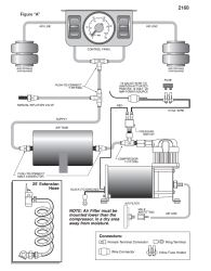 installing an air tank with compressor kit for air bags on a 2003 rh etrailer com Embraco Compressor Wiring Diagram Embraco Compressor Wiring Diagram