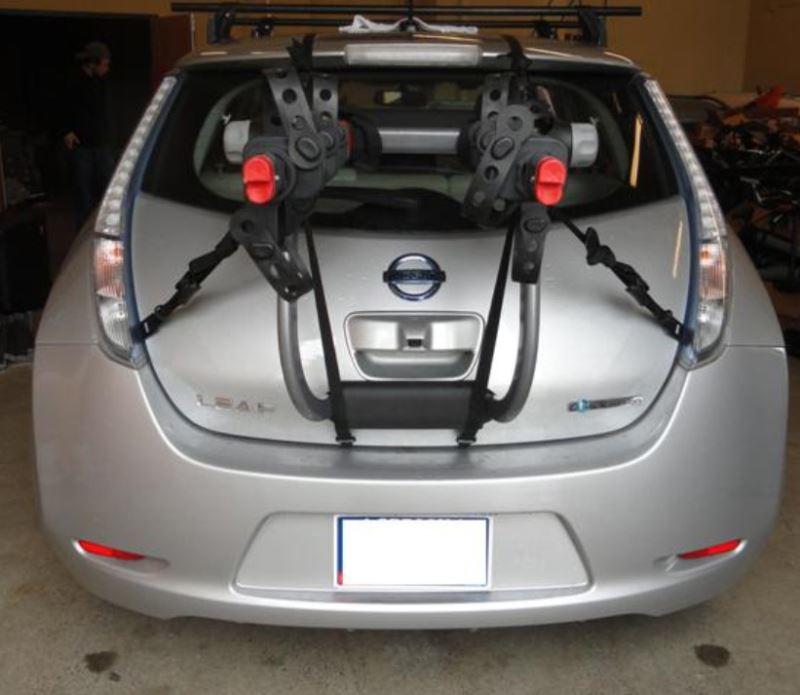 Will Yakima Kingjoe Pro 2 Trunk Mount Bike Rack Fit 2012 Nissan Leaf Etrailer Com