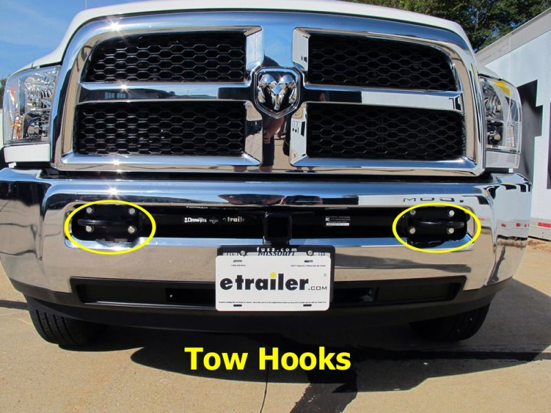 Front Mounted Hitch Receiver for 2015 Ram 3500 Tradesman | etrailer.com