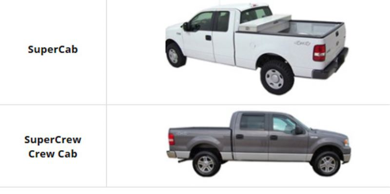 Ford Truck Cab Styles >> What is the Difference Between SuperCrew and SuperCab Ford Truck | etrailer.com