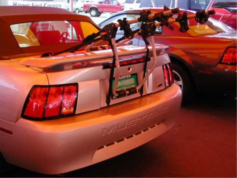 2 Bike Hitch Rack >> Trunk Mount 2 Bike Rack for 2003 Ford Mustang GT ...