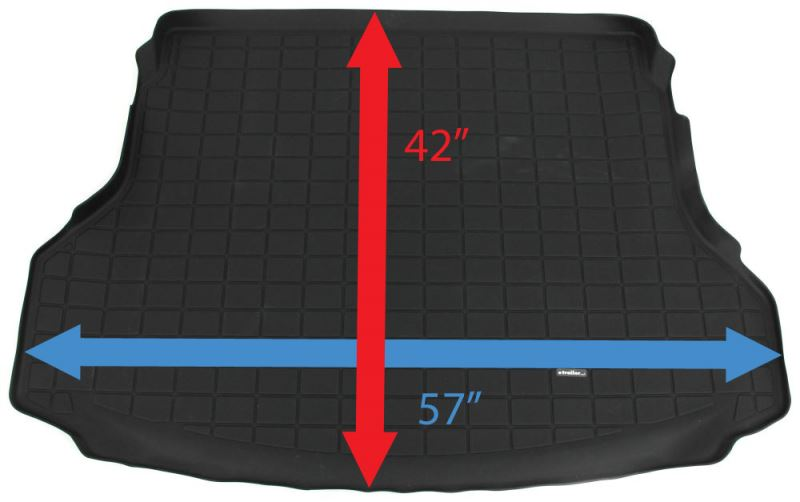 Dimensions Of The Weathertech Cargo Mat Wt40691 For A