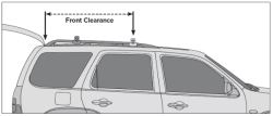 Hatch And Antenna Clearance Of Thule Roof Mounted Cargo