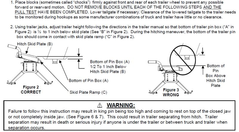 reese 5th wheel hitch installation instructions dodge