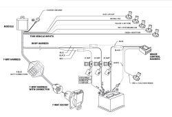 Universal Trailer Wiring Harness For 1998 Range Rover etrailercom