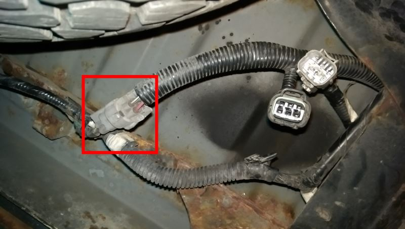 Where Does Curt Trailer Wiring Harness Install On A 2000 Toyota Tundra