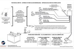 installation instructions for tow ready wiring harness for. Black Bedroom Furniture Sets. Home Design Ideas