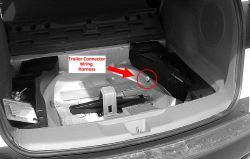 location of trailer wiring harness plug on 2007 acura rdx etrailer com rh etrailer com 2014 acura rdx trailer wiring harness