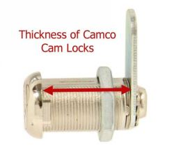 How to Measure the Thickness of a Camco Cam Lock | etrailer com