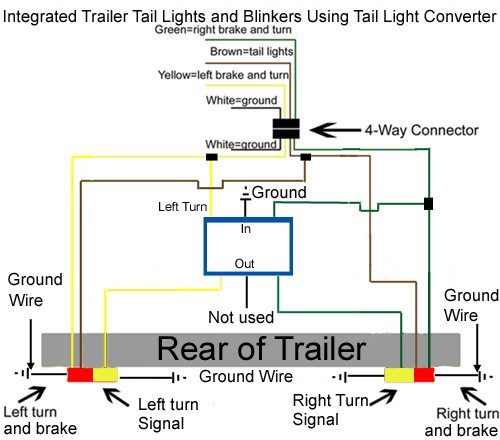 wiring diagram for trailer tail lights the wiring diagram wiring diagram for trailer lights and brakes nilza wiring diagram