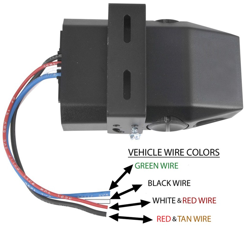 how to wire brake controller to wires under dash that are. Black Bedroom Furniture Sets. Home Design Ideas