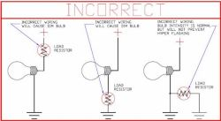 installing resistors to prevent hyperflashing brake lights on 2004 rh etrailer com