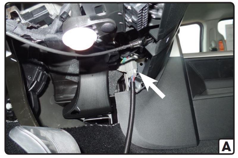 Brake Controller Wiring >> Where Does a Curt Venturer Brake Controller Plug In on a 2016 Ram 1500   etrailer.com