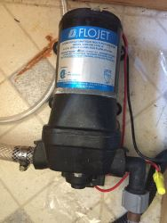 Replacement Hydromax Rv Fresh Water Pump P25201 For Flojet