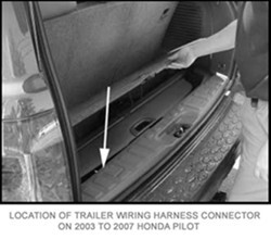 Where To Connect Hopkins Plug-N-Tow Wiring Harness # 43105 ... on towdaddy wiring harness, honda pilot exterior accessories, 2015 honda pilot towing harness,