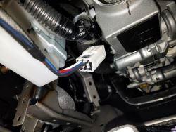 location of brake controller install on a 2017 nissan armada etrailer