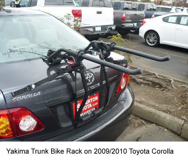 What Trunk Bike Rack Is Available To Fit A 2010 Toyota