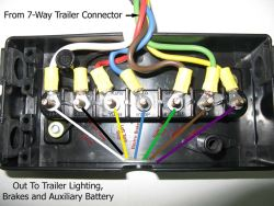 is junction box recommended when installing new trailer wiring 7 way rh etrailer com