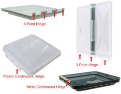 Correct Hinge Type For Replacement Roof Vent Etrailer Com