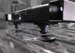 Convert A Ball Cushioned 5th Wheel To Gooseneck Adapter 12 To 16 Tall 20 000 Lbs