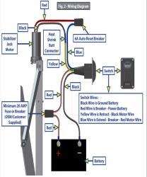 how to install the replacement electric jack switch with harness