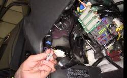 where is brake controller install port on 2016 honda pilot