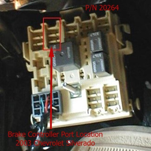 brake controller wiring adapter for installing a voyager
