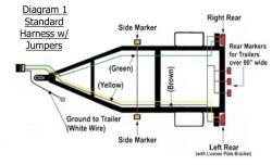 installing brown running light wire on trailer etrailer com rh etrailer com