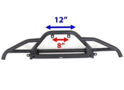 Light bar mounting dimensions on the westin trailblazer front bumper click to enlarge mozeypictures Image collections