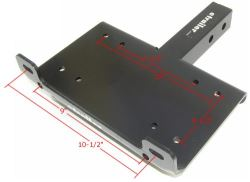 Is There a Recommended Winch Mounting Plate Thickness for a 12,000