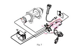 wiring diagram for installing superwinch a3500 winch