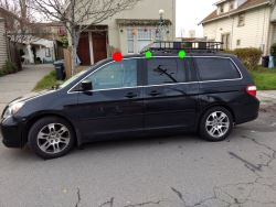 Honda Odyssey Roof Rack >> Yakima Q Towers Roof Rack Feet For Naked Roof Qty 4