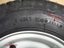 Where Is The Date Code Located On A Trailer Tire Etrailer Com