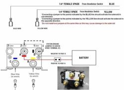 Rocker Switch Wiring for a Superwinch Terra Series ATV Winch ... on wire rope hoist wiring diagram, utv horn wiring diagram, solenoid switch wiring diagram, polaris ranger wiring diagram,