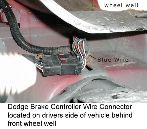 2004 dodge pick up trailer wiring 2006 dodge pick up trailer brake wiring brake controller not working on 2006 dodge ram 3500 when ...