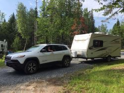 Jeep Grand Cherokee Towing Capacity >> Towing Capacity For 2018 Jeep Cherokee Trailhawk With Factory Tow
