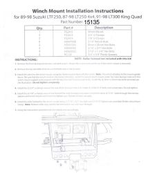 Admirable Install Instructions For Bulldog Winch Mount Bdw15135 Etrailer Com Wiring 101 Louspimsautoservicenl