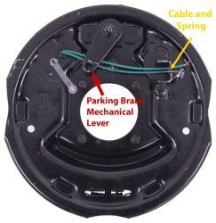 Dexter Electric Trailer Brake Kit w/ Parking Brakes - 10