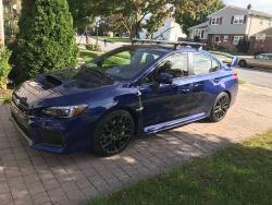 Fairing Recommendation For Thule Roof Rack On 2019 Subaru Wrx Sti