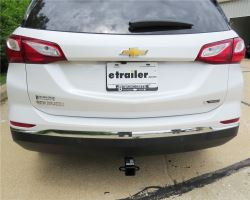 Hidden Draw Tite Trailer Hitch that Fits 2019 Chevy Equinox
