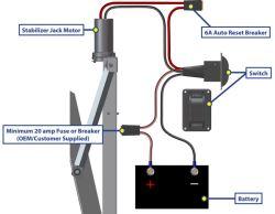 Rv Electric Jack Wiring   Wiring Diagram
