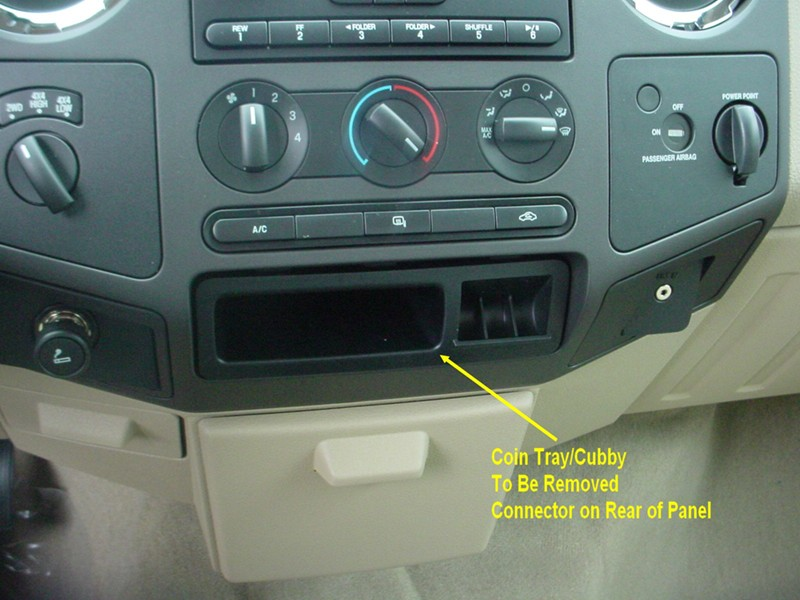 where to find brake controller connector on 2010 ford f250. Black Bedroom Furniture Sets. Home Design Ideas