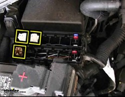 fuse box location for installation of curt relay kit for nissans rh etrailer com nissan titan fuse box diagram 2013 nissan titan fuse box diagram