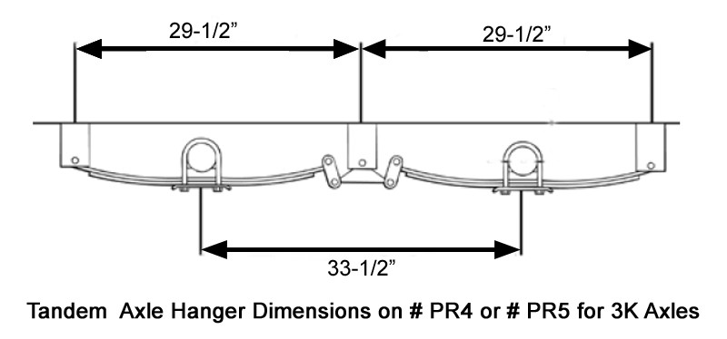recommended hanger spacing for 4