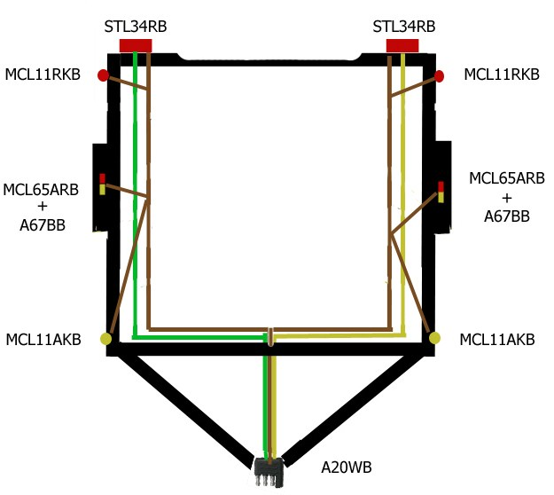 Wiring Diagram For Cargo Trailer Interior Lights : Wiring a victory motorcycle and trailer for towing