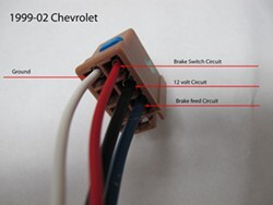 turning on running lights activates trailer brakes on a brake rh etrailer com chevrolet trailer brake wiring 2001 chevy trailer brake wiring