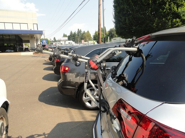 Class Iii Hitch >> Will the Yakima King Joe Pro 3 Trunk Mount Bike Rack Fit a 2008 Acura MDX with Rear Spoiler ...