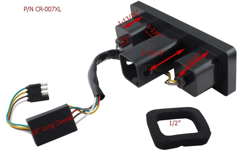 M810 as well Watch moreover 184374 What S Missing Tow Package furthermore 18 Awg Wire besides Wiring Diagram For Led Trailer Lights. on trailer light connector