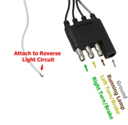 how to hardwire pilot automotive tailgate led light strip into 2008 rh etrailer com  anzo tailgate light bar wiring diagram