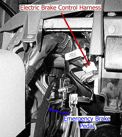 How To Locate The Vehicle Side Electric Brake Control
